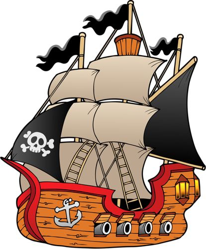 414x500 42 Best Ship Clip Art Images On Sailing Ships, Party