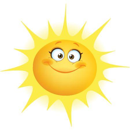 450x450 Smiley Sun Cliparts