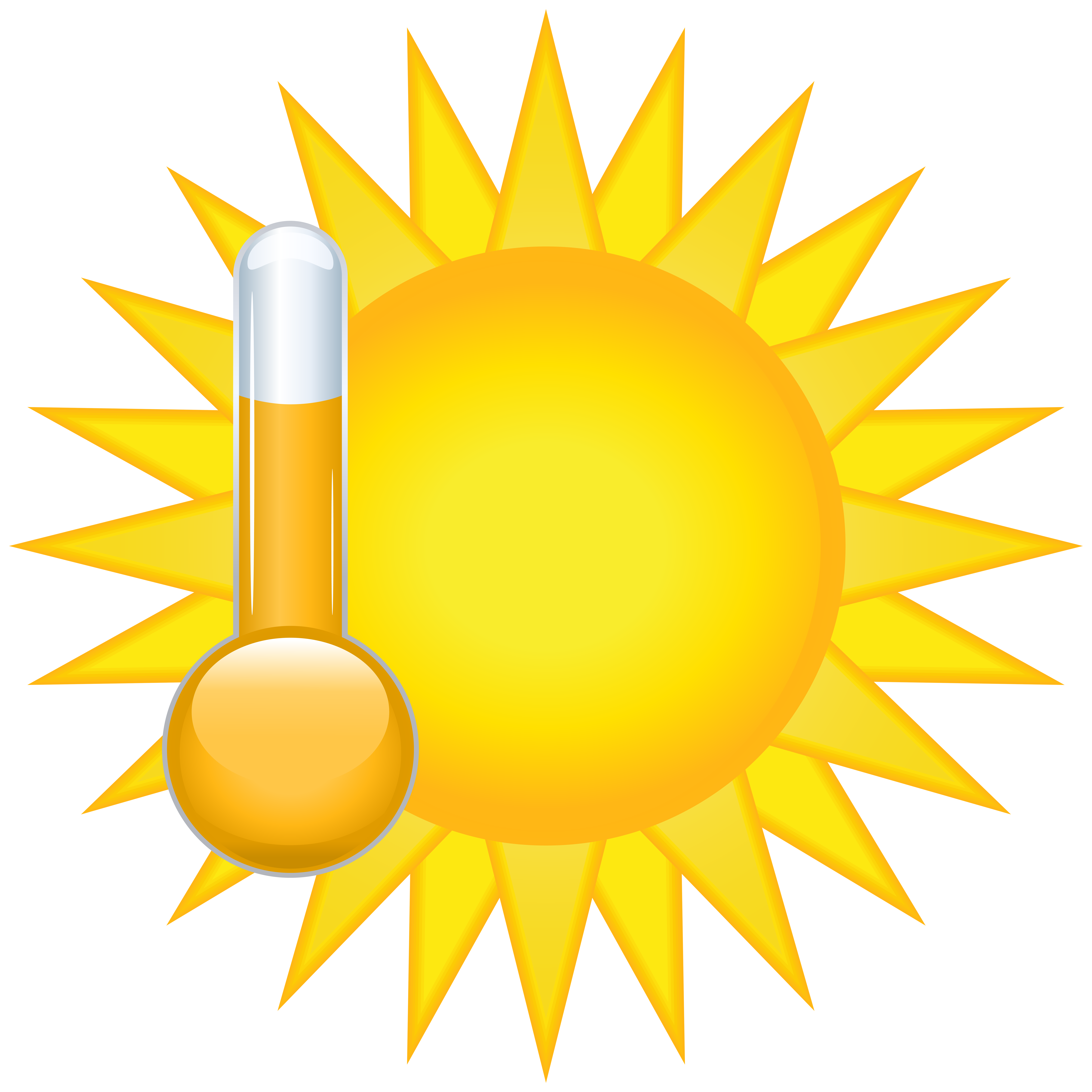 8000x8000 Sunny Weather Icon Png Clip Art