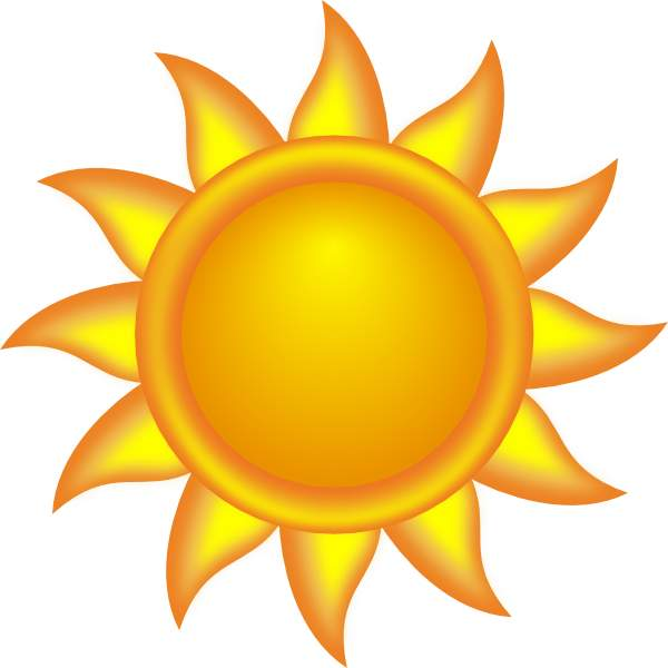 600x600 Sunshine Sun Clip Art Free Clipart Images 3
