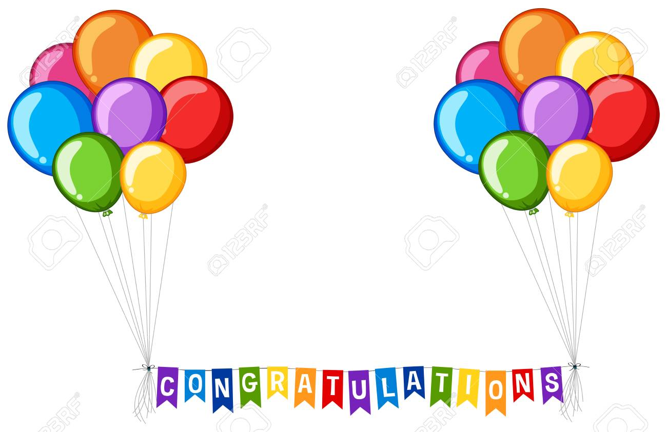1300x843 Congratulations Balloons Clip Art Congratulations Balloons Paper