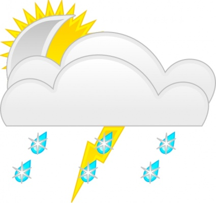425x399 Weather Clip Art Weather Sunny Clip