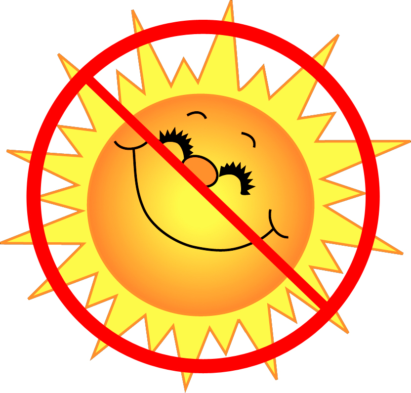 832x795 But Sunny Clipart