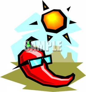280x300 A Hot Pepper Wearing Sunglasses On A Sunny Day