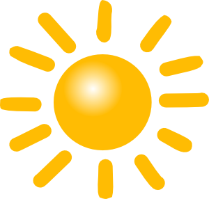 300x286 Weather Sunny Clip Art