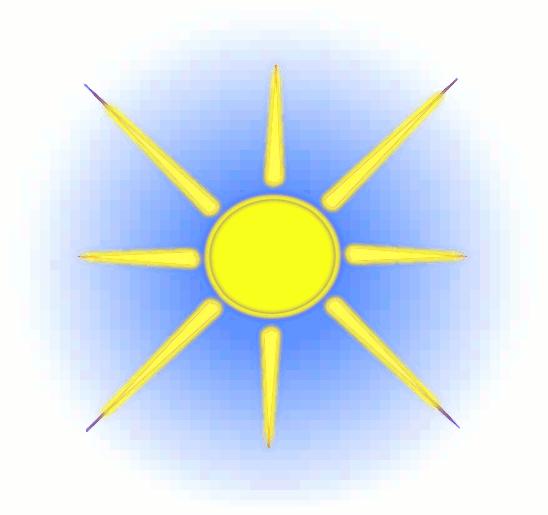 548x515 Free Sun Clipart