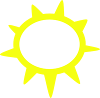 200x196 Free Sunny Clipart Png, Sunny Icons