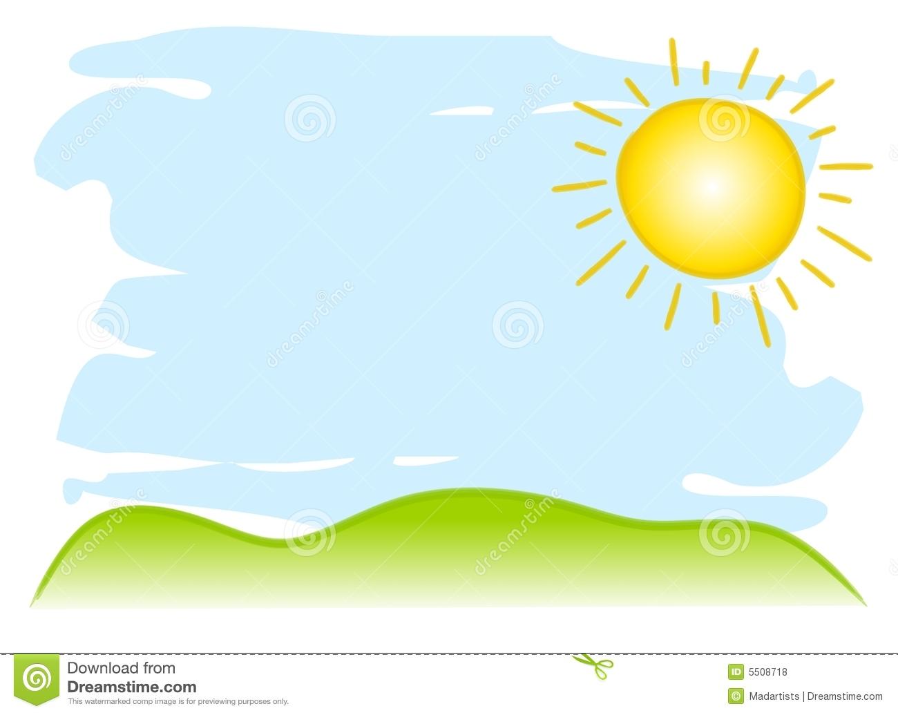 1300x1035 Sunny Sky Clipart