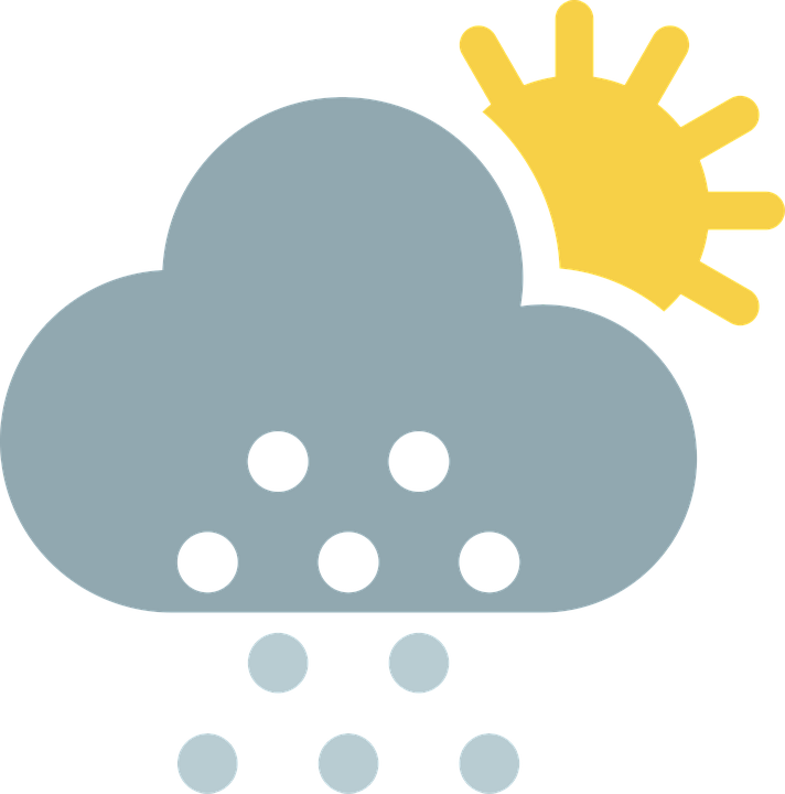 712x720 Weather Clipart Partly Cloudy Clip Art