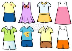 236x167 Clothes For Sunny Weather Clipart
