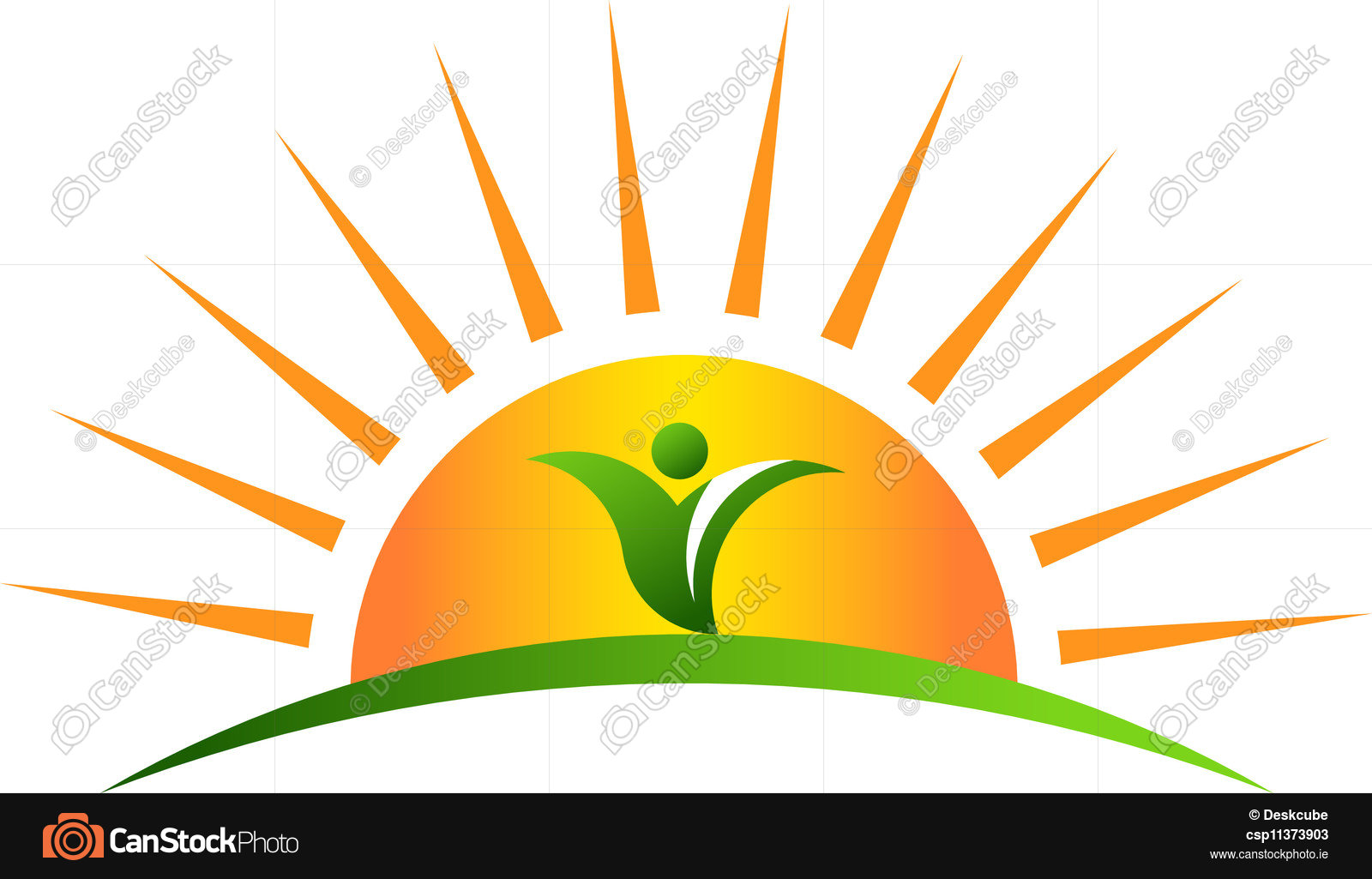 1600x1025 Plant In Sunrise. Sun Rising With A Plant In The Horizon Vector