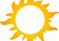 200x140 Sun Clipart Sunshine Clip Art Sun Clip Art Bright Happy Summer Sun