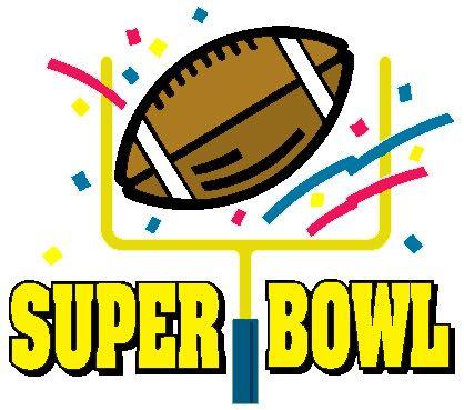 418x369 Clipart Super Bowl Party