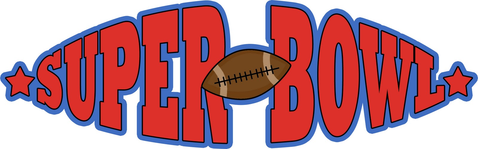 1600x500 Super Bowl Football Banners Clipart