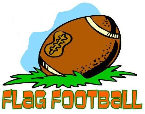 482x379 Flag Football Clipart