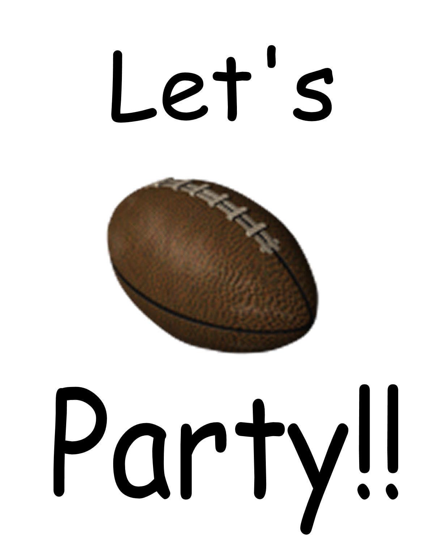 1200x1500 Football Clipart Football Party 3544143