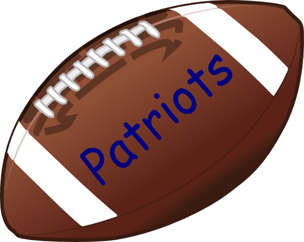 600x478 American Football Clip Art