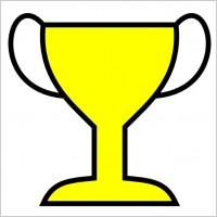 200x200 Free Football Trophy Clipart