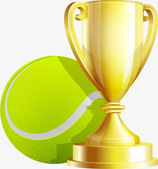 650x697 Tennis Trophy Clipart
