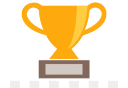 260x180 Trophy Cup Award Silver Clip Art