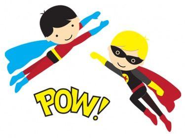 375x281 Free Superhero Clipart Super Heros Printables