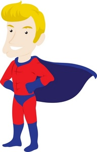 192x300 Free Super Hero Clip Art Free Collection Download And Share Free