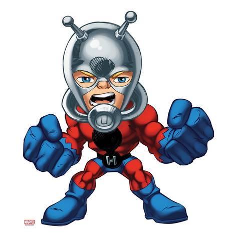 473x473 Marvel Super Hero Squad Ant Man Standing Prints