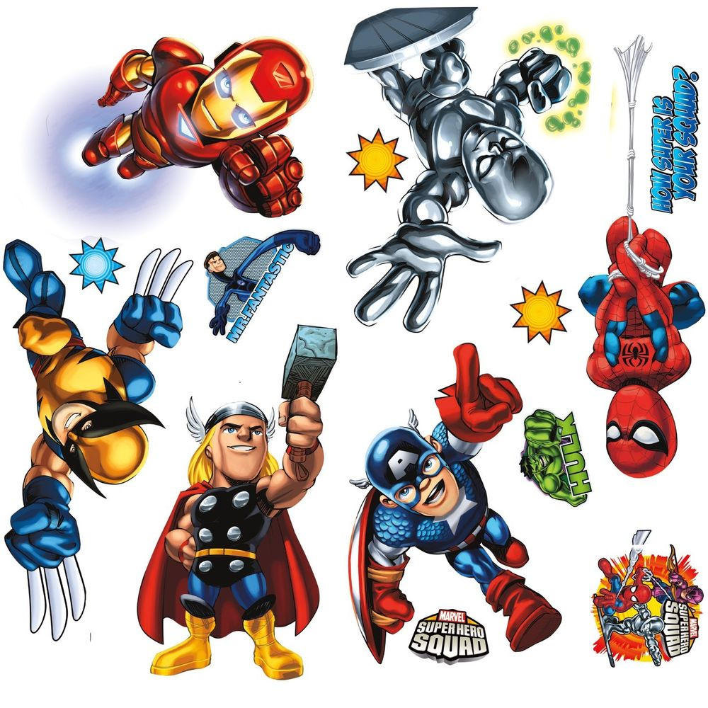 1000x1000 Marvel Super Hero Squad Bedroom Decor 19 All About