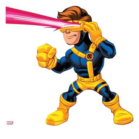 473x473 Marvel Super Hero Squad Cyclops Shooting Posters