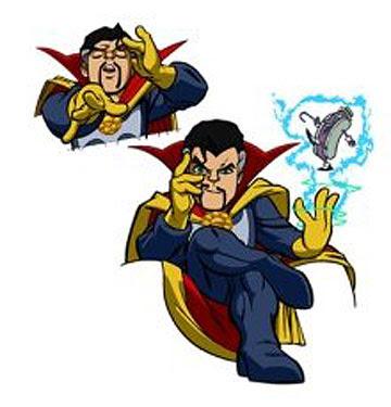 360x375 Sanctum Sanctorum Comix Super Hero Squad Animated Series Update