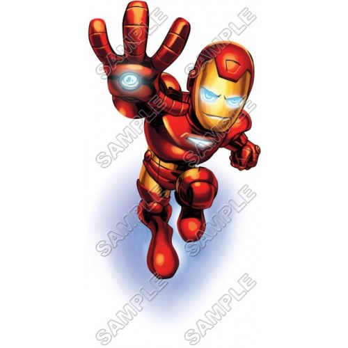 500x500 Super Hero Squad Iron Man T Shirt Iron On Transfer Decal