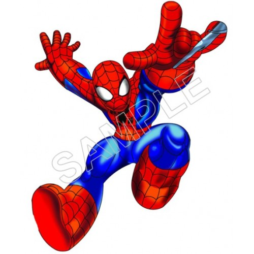 500x500 Super Hero Squad Spider Man T Shirt Iron On Transfer Decal