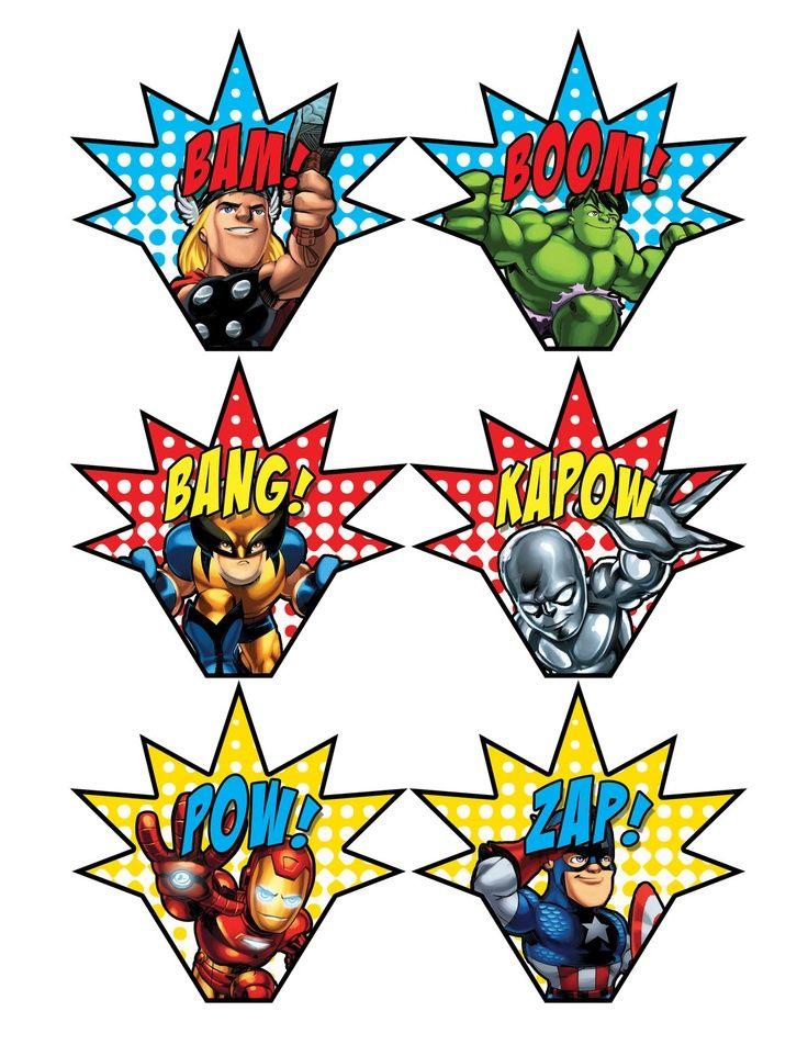 736x952 Superhero Squad Printable Kiddos The Boy Squad
