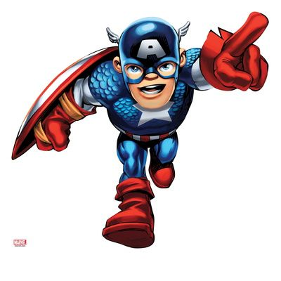 400x400 Marvel Super Hero Squad Captain America Running.jpg
