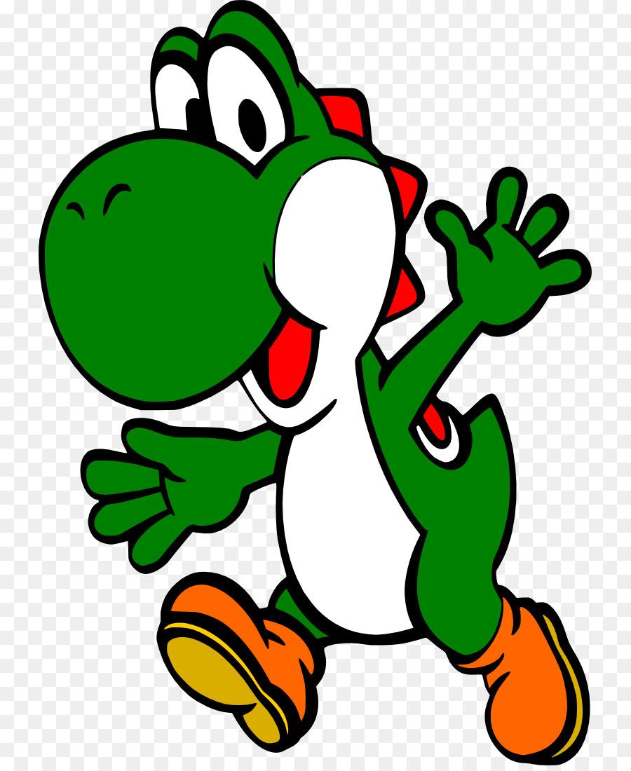 900x1100 Mario Amp Yoshi New Super Mario Bros. Wii Clip Art