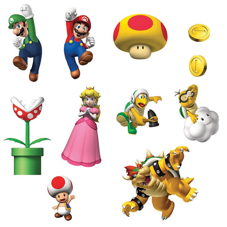 736x736 H Brothers Clip Art 582 Best Super Mario Images