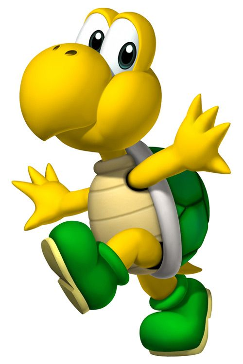 Super Mario Characters Clipart