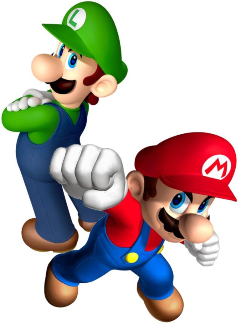 770x1038 Mario And Luigi Clipart