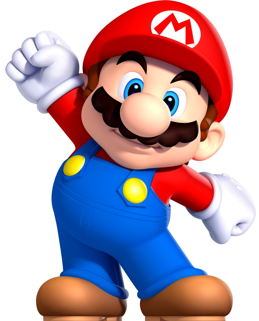 877x1085 Mario Brothers