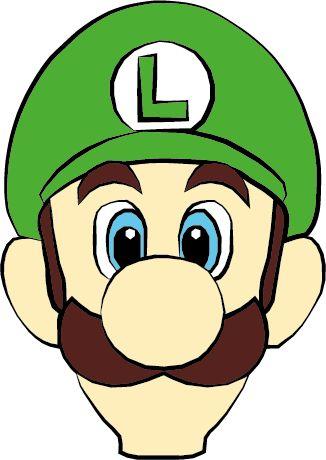 326x460 Mario clipart head