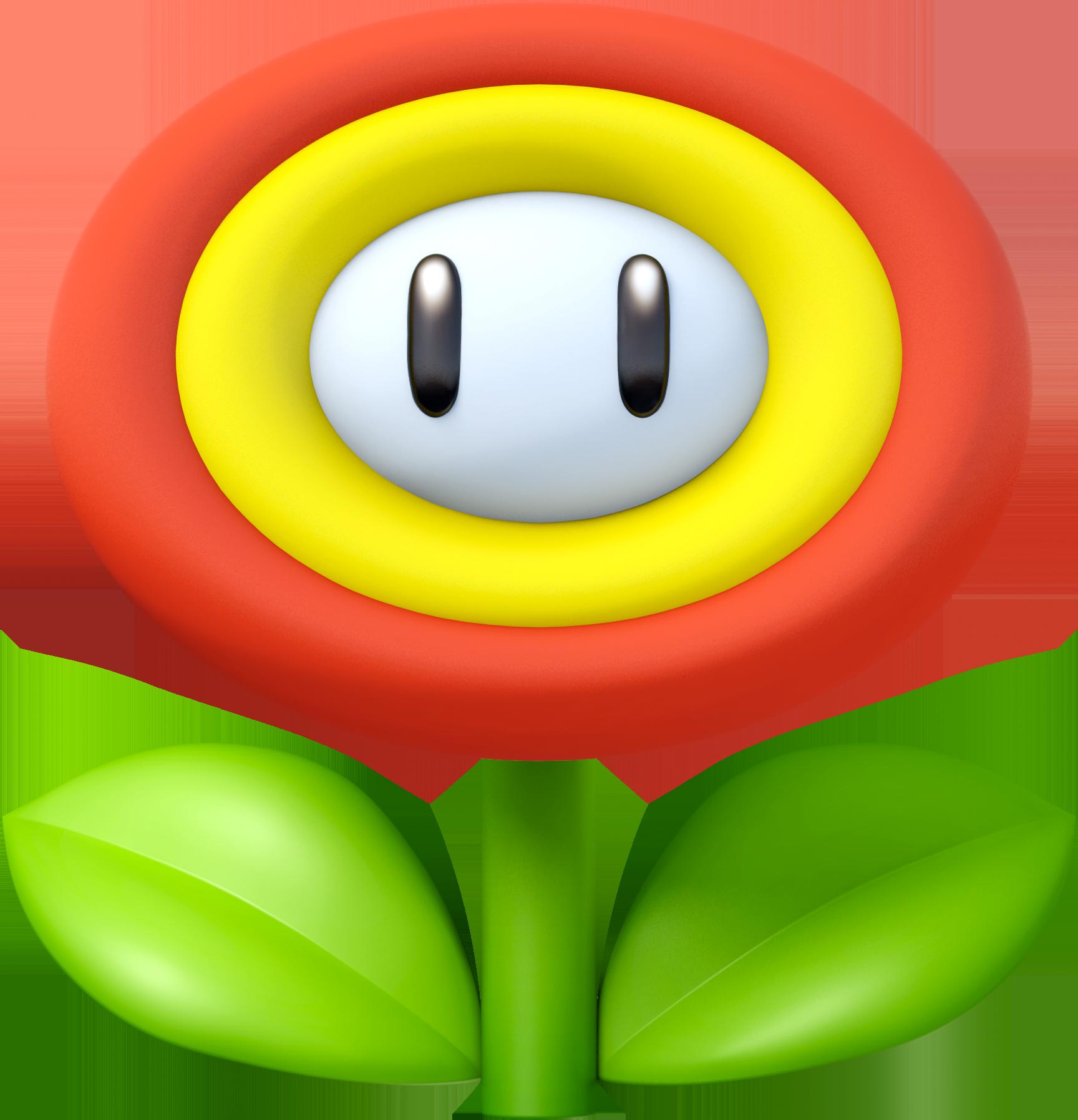 1728x1796 Super Mario Clipart flower