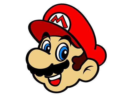 520x386 Super Mario Face Clipart