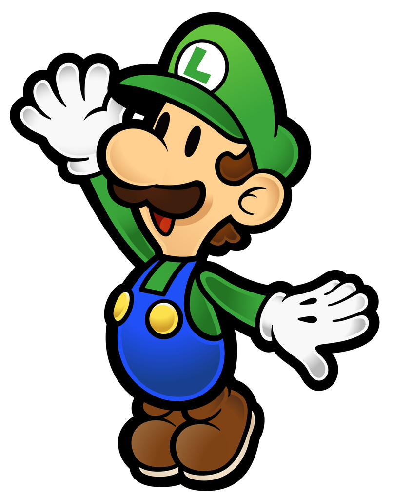 806x1024 Super Mario Character Clipart Collection