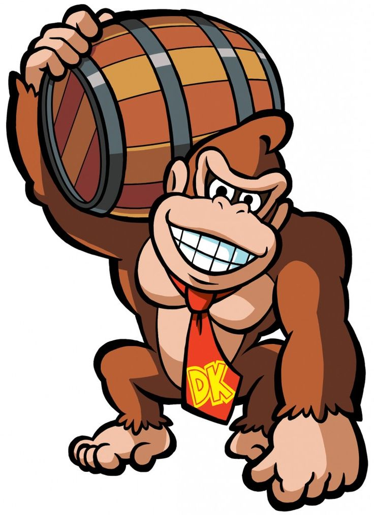 736x1015 Donkey Kong Clip Art Clipart