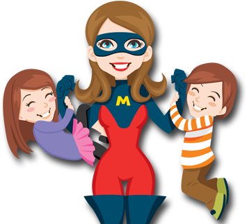 355x323 Collection Of Super Mom Clipart High Quality, Free Cliparts