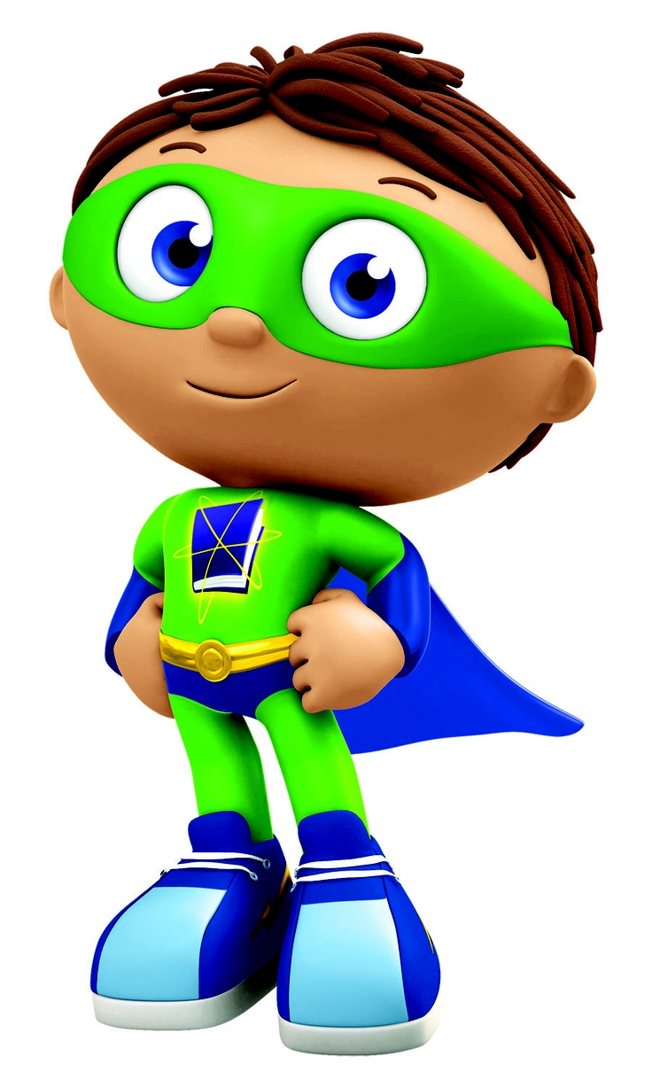 Super Why Clipart