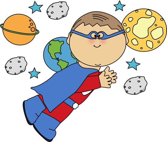 Superhero Cartoon Clipart