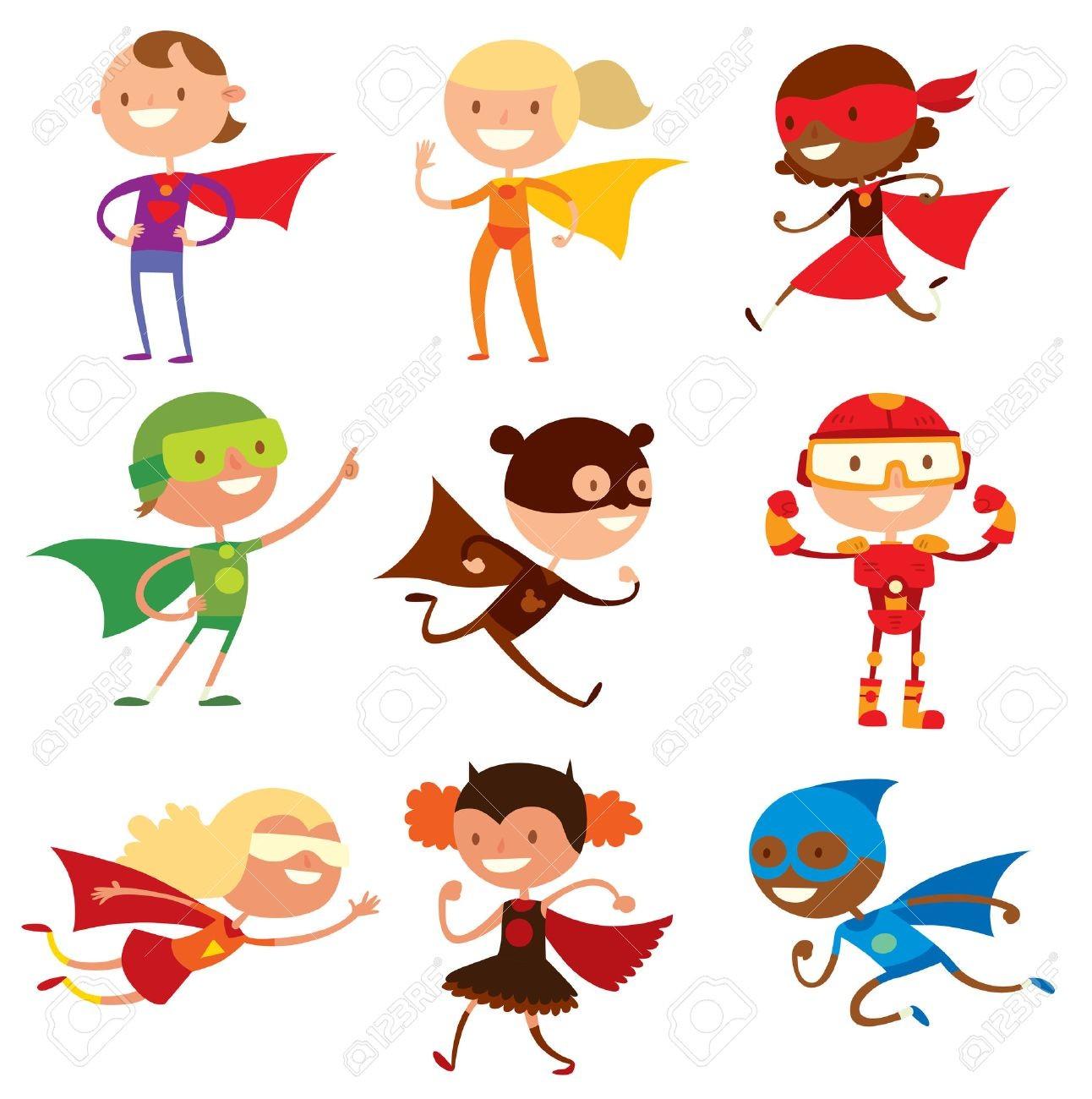 1292x1300 Superhero Kids Clipart Clip Art Super Hero Flying Running