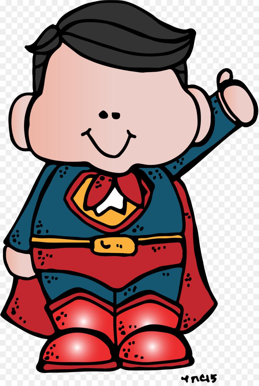 900x1340 Superhero Blog Clip Art
