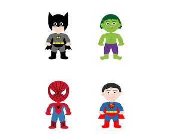 341x270 Superhero Clip Art